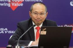 Trading bounce for Bursa Malaysia