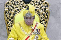 Selangor Sultan urges strong action against graft