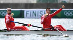 Olympics-Rowing-Croatia, New Zealand triumph in pairs; Ireland, Italy take lightweight crowns