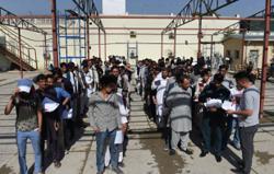 Passports please: Afghans queue for escape lifeline