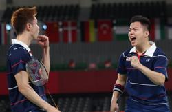 Superb Aaron-Wooi Yik end jinx against world No. 1 to reach Olympics semis