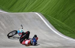 Olympics-Cycling-Gone in 60 seconds: Olympic dreams dashed for Japan's Hatakeyama