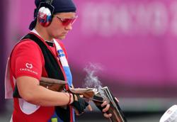 Olympics-Shooting-Stefecekova eyes gold, Kostelecky seeks Beijing encore