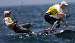Olympics-Sailing-Yachtsmen 'tack on' to grab Olympic advantage