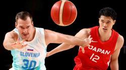 Olympics-Basketball-Slovenia powers past Japan to go up 2-0