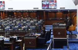 Parliament adjourns for fourth time, two Covid-19 cases detected