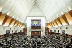 Parliament sitting adjourned until Monday (Aug 2)