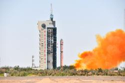 China launches earth-observation satellite