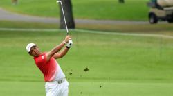 Olympics-Golf-Matsuyama makes steady start but feels lingering effects of COVID illness