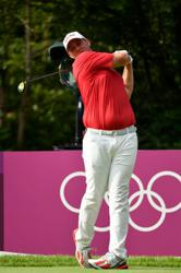 Olympics-Golf-Austria's Straka savours dream day with twin brother on bag