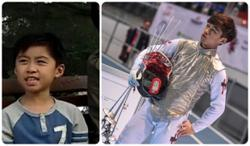 Former TVB child actor Lawrence Ng is now an Olympic fencer for Hong Kong