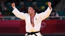 Olympics-Judo-Japanese judoka Wolf wins gold in men's -100 kg category in Tokyo