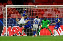 Soccer-Porto's Taremi beats Insigne and Roofe to UEFA Goal of the Season award