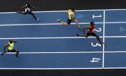 Olympics-Athletics-Without Bolt the 100m is suddenly a race again