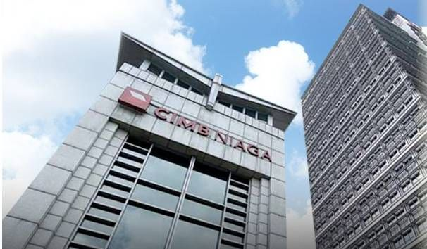 PT Bank CIMB  Niaga  Tbk's net profit rose by 11.2% in the first half ended June 30, 2021 (1H, FY21) to 2.1 trillion rupiah (RM614mil).