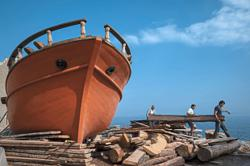 Why Greek traditional wooden boatbuilders are facing a dying craft