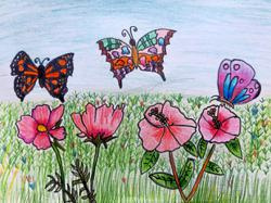Starchild: Malaysian children love colourful butterflies