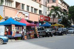 Growing concern over illegal stalls