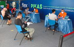 Industrial vaccination centre now open for companies in Bukit Minyak