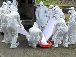 Volunteers briefed on burial SOP for Muslim Covid-19 patients