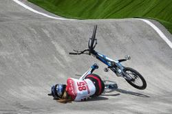 Gone in 60 seconds: It's a sad day for BMX rider Sae