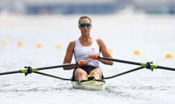 Olympics-Rowing-New Zealand's Emma Twigg wins women's single sculls gold