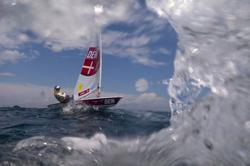 Olympics-Sailing-Tearful Rindom suffers blow to sailing gold hopes