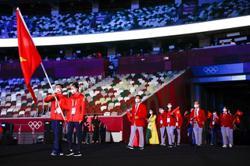 Olympians return to Vietnam heads held high despite online abuse