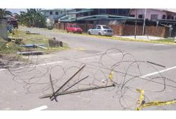 Sabah cops seeking man who crashed through barbed wire barrier after hitting car