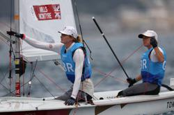 Olympics-Sailing-Give us big waves over mental battles, say Britain's Olympic sailors