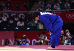 Olympics-Judo-Japanese judoka Sone wins women's +78 kg category in Tokyo