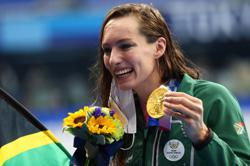 Olympics-Swimming-Schoenmaker guided by faith in landmark South African gold