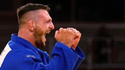 Olympics-Judo-Czech Krpalek wins men's +100 kg category