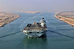 UK rebuffs Chinese media warning over carrier task force