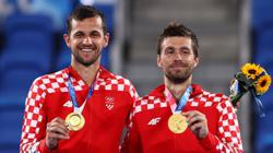Olympics-2020-Tennis-Croatia's Mektic and Pavic win men's doubles gold