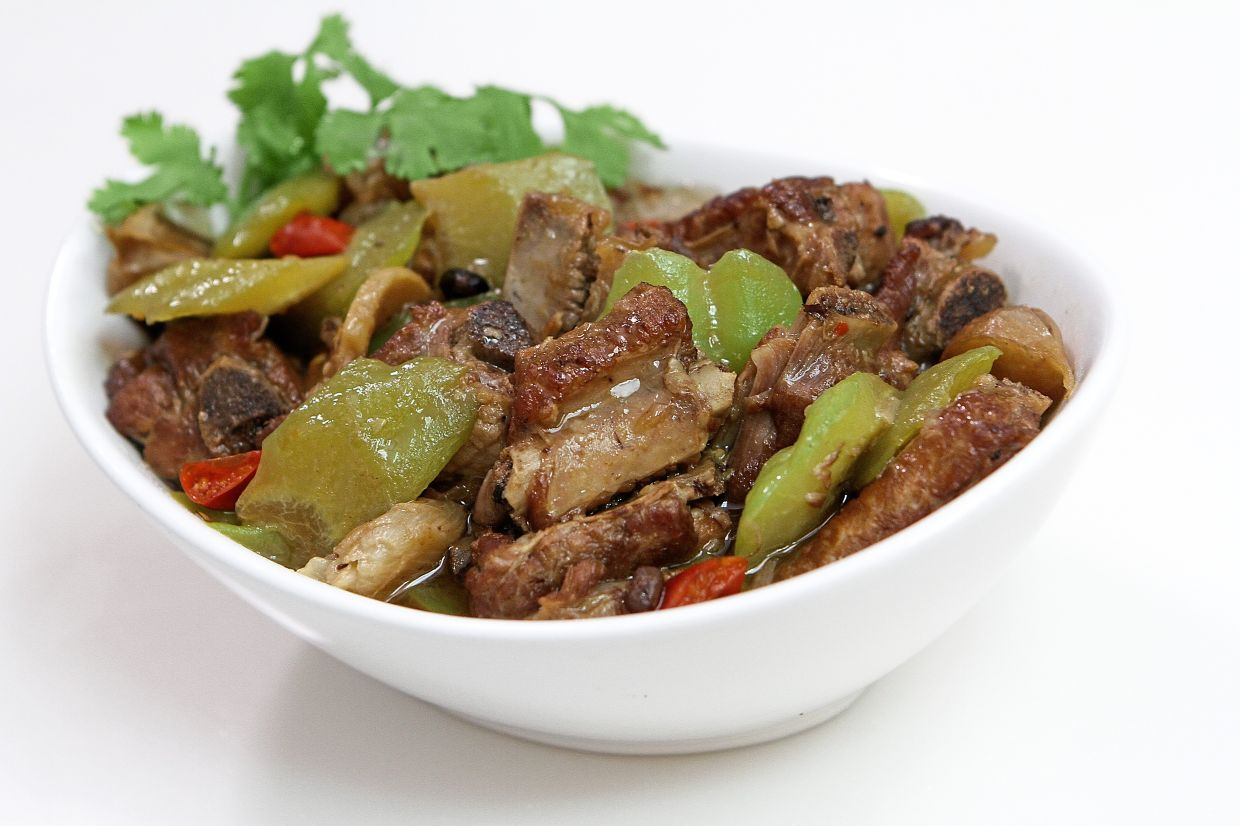 Bitter gourd with pork ribs is considered a comfort food for many Chinese families. — YAP CHEE HONG/The Star