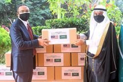 M'sia receives aid from Saudi Arabia