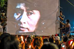 Stepping out of Suu Kyi's shadow