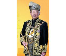 Happy Birthday and Daulat Tuanku from all