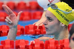 Olympics-Swimming-Australian McKeown wins women's 200m backstroke gold