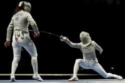 Olympics-Fencing-Russians win second consecutive gold in women's team sabre