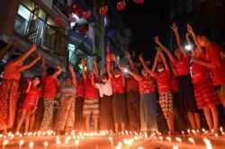 Protests, accusations against Myanmar junta ahead of coup anniversary