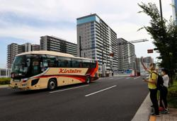 Olympics-Accreditation revoked for leaving athletes' village for sightseeing