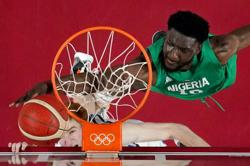 Olympics-Basketball-Nigeria's Metu blasts government for lack of support at Games