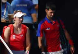 Olympics-Tennis-No medal for injured Djokovic for third straight Games