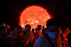 Watch: take a 'tour' of the world's largest planetarium in Shanghai