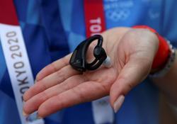 Olympics-Organisers seek to prevent heatstroke with AI gadget