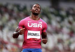 Olympics-Athletics-100m favourite Bromell sneaks through as fast loser