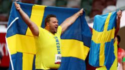Olympics-Athletics-Stahl adds gold to world title in Swedish one-two