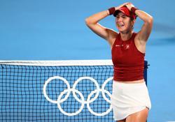 Olympics-Swiss Bencic beats Vondrousova to win women's singles gold